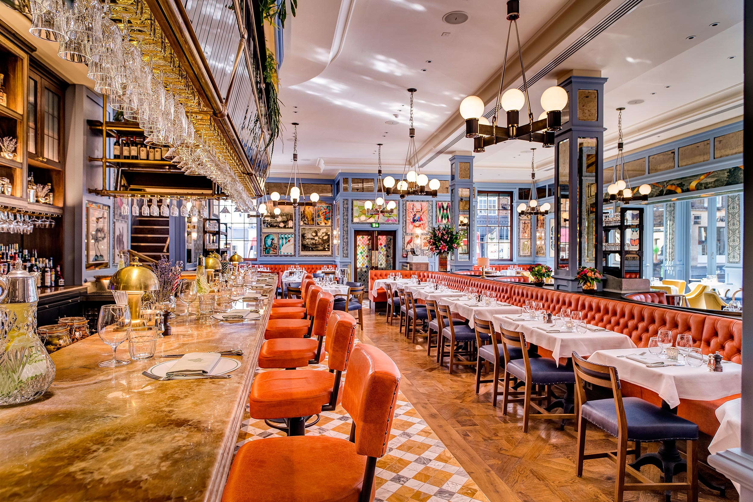 The Ivy Soho Brasserie: Where the cool crowd goes to eat at London Fashion Week